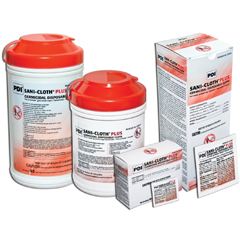 MON85846706 - Professional DisposablesHard Surface Disinfectant Sani-Cloth® Plus Wipe X-Large Pull-Up, 65EA/PK 6PK/CS