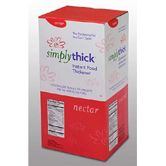 MON86102600 - Simply ThickFood Thickener Nectar Consistency Individual Serving Packets
