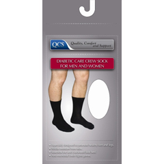 MON86120300 - Scott SpecialtiesDiabetic Socks Crew Large Black