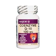 MON86382700 - Major PharmaceuticalsCoenzyme Q-10 Supplement Major 100 mg Strength Softgel 30 per Bottle