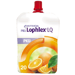 MON86512600 - NutriciaPKU Oral Supplement Lophlex LQ Juicy Orange 4.2 oz. Pouch Ready to Use
