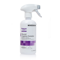 MON86572100 - McKesson - Wound Irrigation Solution Puracyn Plus Professional 16.9 oz. Spray Bottle NonSterile, 6/CS