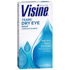 MON86642700 - Johnson & JohnsonLubricant Eye Drops Visine 0.5 oz.
