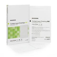 MON86962110 - McKesson - Wound Contact Layer Dressing (4817), 10/BX, 7BX/CS