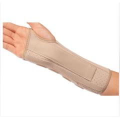MON87033000 - DJO - Wrist Splint PROCARE Contoured Cotton / Flannel Right Hand Beige Small