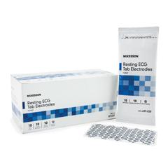 MON87222504 - McKessonResting ECG Tab Electrode Diagnostic Adult Vinyl Non-Radiolucent