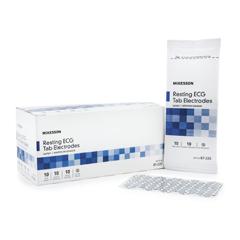 MON87252504 - McKessonResting ECG Tab Electrode Diagnostic Adult Vinyl Non-Radiolucent
