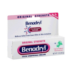 MON87322700 - Johnson & JohnsonItch Relief Benadryl® 1 oz. 2%/ 0.1% Cream
