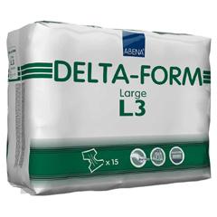 MON959528CS - Abena - Delta-Form L3® Adult Incontinent Briefs, Large