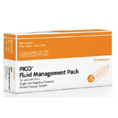 MON87562101 - Smith & Nephew - Negative Pressure Wound Therapy Fluid Management Pack PICO 7 Multisite Small 15 X 20 cm, 1/BX