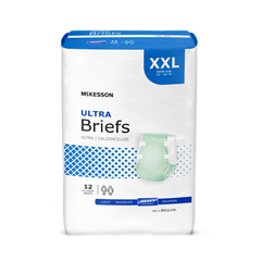 MON87773100 - McKessonUltra Heavy Absorbency Briefs, 2X-Large, 48/CS