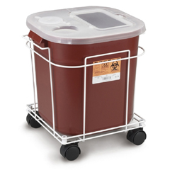 MON87902800 - Medical Action Industries - Sharps Cart For A 8 Gallon And 16 Gallon