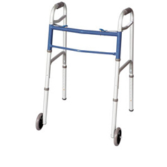 MON87973800 - Apex-CarexClassics Dual Button Walker with Wheels