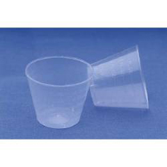 MON17721200 - Moore Medical1 oz. Translucent Plastic Medicine Cups, 100/PK
