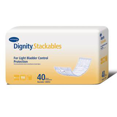 MON88523101 - HartmannIncontinence Liner Dignity® Stackables® 15 Inch Length Light Absorbency Polymer Unisex Disposable, 40EA/PK