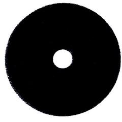 MON88554100 - Saalfeld RedistributionHard Floor Stripping Pad Ultra 66 Super Strip 20 Inch Black