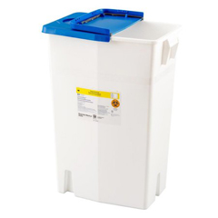 MON88702801 - MedtronicSharpSafety™ Pharmaceutical Waste Container, Gasketed Hinged Lid, 18 Gallon