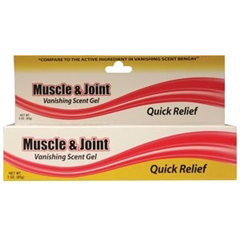 MON88751400 - New World ImportsPain Relief Muscle and Joint 2.5% Strength Gel 3 oz.