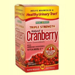 MON19392710 - US NutritionNatures Bounty® 12000 Mg Cranberry Softgel Supplements, 60/BX