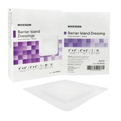MON89162000 - McKessonIsland Dressing Polypropylene / Rayon 6 X 6, 25EA/BX