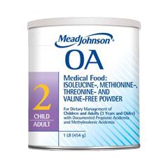 MON89172600 - Mead Johnson NutritionMedical Food Powder OA 2 Unflavored 1 lb., 6EA/CS