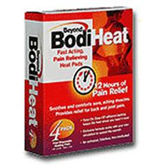 MON89452700 - McKessonPain Relief Beyond Bodi Heat® Patch 4 per Box, 4EA/BX