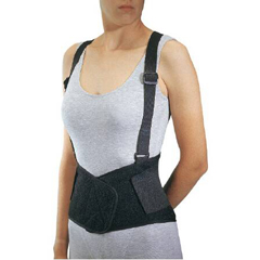 MON89453000 - DJOIndustrial Back Support PROCARE® Medium Hook and Loop Closure 30 to 36 Inch Unisex