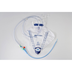 MON89501900 - MedtronicDover Indwelling Catheter Tray Foley 18 Fr. 5 cc Balloon Silicone