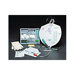 MON89721900 - Bard MedicalIndwelling Catheter Tray Bardex Foley 18 Fr. 5 cc Balloon Silicone