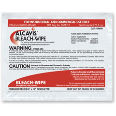 MON90411100 - AlcavisBleach Wipes