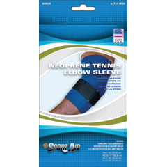 MON90533000 - Scott SpecialtiesElbow Sleeve Sport-Aid® Large Hook and Loop Closure Tennis with Tension Strap