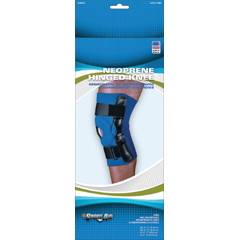MON90663000 - Scott SpecialtiesHinged Knee Support Sport-Aid® Large Hook and Loop Closure 15 to 17 Inch Circumference Left or Right Knee