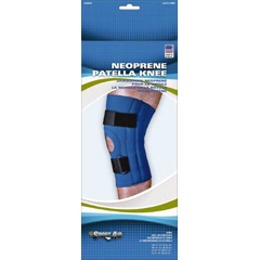 MON90673000 - Scott SpecialtiesKnee Sleeve Sport-Aid® Large Slip-On 15 to 17 Inch Circumference Left or Right Knee