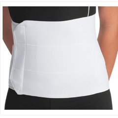 MON90713000 - DJO - Abdominal Support PROCARE® Universal Hook and Loop Closure 45 to 62 Inch 9 Inch Unisex