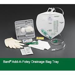 MON90761910 - Bard MedicalIndwelling Catheter Tray Bard Add-A-Foley Foley Without Catheter