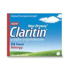 MON90862700 - Schering PloughAllergy Relief Claritin® 10 mg 10 per Box, 10/BX