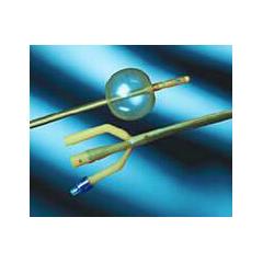 MON90901910 - Bard MedicalFoley Catheter Lubricath 3-Way / Hematuria Coude Tip 30 cc Balloon 20 Fr. Hydrophilic Polymer Coated Latex