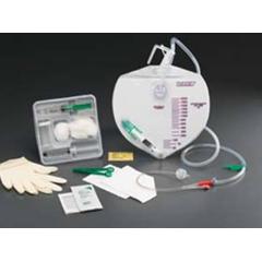 MON91181900 - Bard MedicalIndwelling Catheter Tray Lubri-Sil I.C. Foley 18 Fr. 5 cc Balloon Silicone