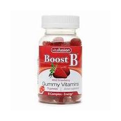 MON91772700 - VitafusionGummy B-Comp Strawberry Adult, 70 per Bottle