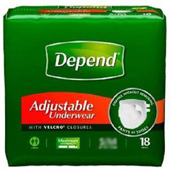 MON91853101 - Kimberly Clark ProfessionalDepend® Protective Underwear (35446), XL, 16 EA/PK