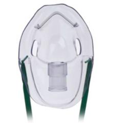MON91853900 - Teleflex Medical - Aerosol Mask Under the Chin One Size Fits Most Adjustable Elastic Head Strap