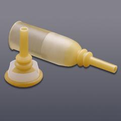 MON92071900 - HollisterMale External Catheter Acrylic 26 to 30 mm Medium