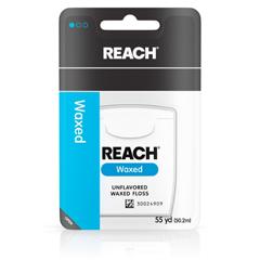 MON92131700 - Johnson & JohnsonDental Floss Reach® Waxed 55 Yards Unflavored