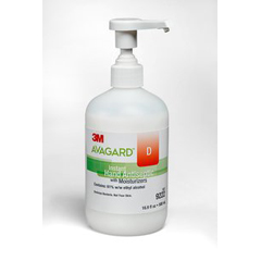 MON92222700 - 3MAvagard™ D Hand Sanitizer Gel 16 oz. Pump Bottle