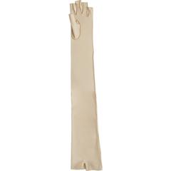 MON92913000 - Patterson MedicalCompression Glove Open Finger Medium Shoulder Length Left Hand Lycra / Spandex