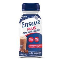 MON92992601 - Abbott NutritionEnsure® Plus™ Milk Chocolate 8 oz. Bottle
