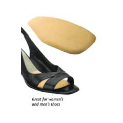 MON93003000 - PedifixMetatarsal Shoe Cushions One Size Fits Most Adhesive One Size Fits Most Left or Right Foot