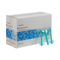 MON93021720 - McKessonDenture Brush Medi-Pak 4-1/4 Ivory