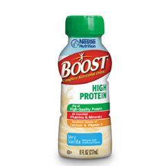 MON778933EA - Nestle Healthcare Nutrition - Oral Supplement Boost® High Protein Very Vanilla 8 oz. Bottle Ready to Use