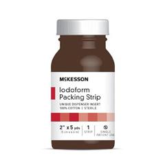 MON94452112 - McKessonIodoform Packing Cotton 2 X 5 Yard, 12EA/CS